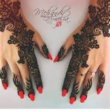 henna tattoo paste cone indian wedding red temporary stickers