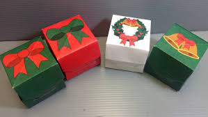christmas boxes origami christmas gift box print your own