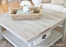 adding wood planks to existing coffee table diy pinterest