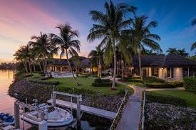 luxury waterfront home in port royal naples blog homeadverts