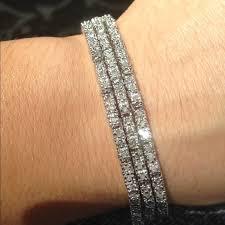 make diamond bracelet images Macy 39 s jewelry 2 carat diamond tennis bracelet poshmark jpg