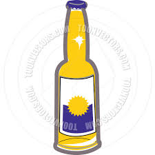 beer vector cartoon beer bottle vector illustration by clip art guy toon