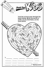 love neighbor color printable valentine u0027s
