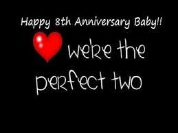8th wedding anniversary our 8th wedding anniversary 10 27 2015