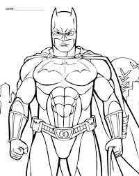 free printable coloring pages batman coloring