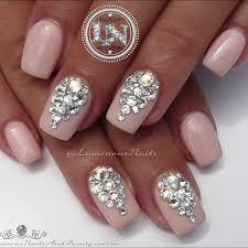 the 25 best bridal nails ideas on pinterest wedding manicure
