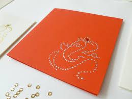 Invitation Cards Handmade Handpainted Modern Ganesh Invitation Cards Wedding Invitations