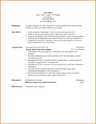 Sample Resume For Insurance Agent by Insurance Resume Free Resume Example And Writing Download