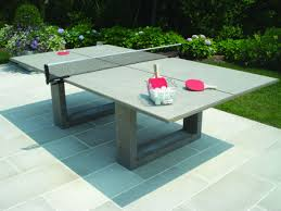 how much does a ping pong table cost stylish concrete ping pong table looks cool will cost you an arm