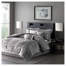 Target Black And White Comforter Carmela Graphic Floral Print Comforter Set 7pc Target