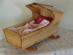 colonial doll cradle finewoodworking