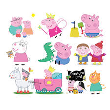 printable peppa pig clipart peppa pig amari u0027s third birthday