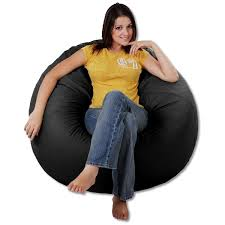 Large Bean Bag Chairs Ultra Suede Bean Bag Chairs Thebeanbagchairoutlet Com
