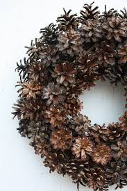 Pinecone How To Make A Pinecone Wreath Video