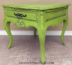 Distressed Wood End Table End Tables Painted Glazed U0026 Distressed Facelift Furniture
