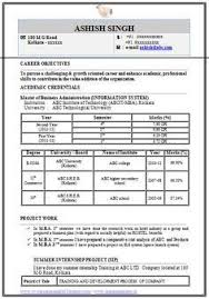 Sample Resume For Mba Freshers by Resume Format Pdf For Freshers Latest Professional Resume Formats