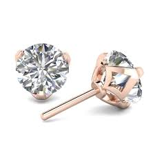 designer stud earrings 0 80ctw d si1 designer stud earrings limited offer 4 pairs only
