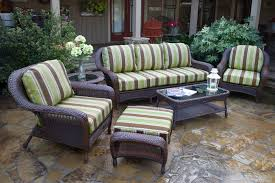 Outdoor Patio Furniture Atlanta by Patio Furniture Sea Pines 6pc Sofa Set