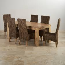 Mango Dining Table Mantis Light Dining Set In Mango Dining Table 6 Chairs