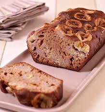 chataignes recettes cuisine cake à la farine de châtaignes et bananes bio les meilleures