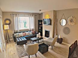livingroom calgary open concept townhouse floor contemporary living room