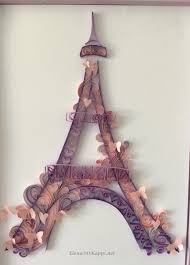 Eiffel Tower Room Ideas Eiffel Tower Quilling Quilling And Other By Elena Okapps Net