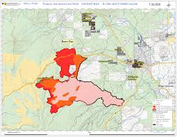 Oregon Fires Map Central Or Fire Info Milli Fire Morning Update August 28