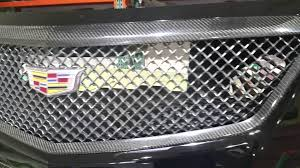 cadillac cts v grill g3 carbon cts v carbon fiber front grill trim