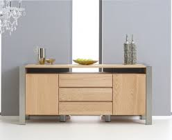 buy the chateau 180cm oak and metal sideboard at oak furniture