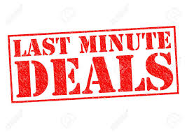 last minute deals rubber st a white background stock
