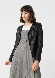 leather jacket women mango usa
