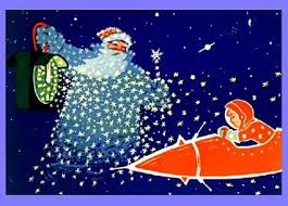 russian new year cards retro russian classic space happy new year card from the 1960s to