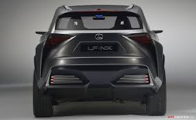 lexus suv concept lf nx concept hints at potential compact lexus suv car