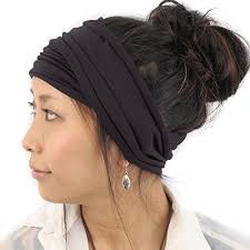 headband wrap mens japanese elastic cotton headband wrap bandana charcoalgray ebay