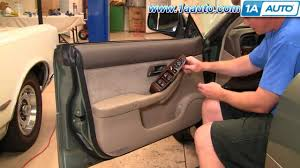 2000 subaru outback interior how to install replace remove door panel subaru outback 00 04