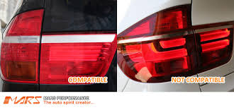 bmw x5 tail light removal smoked red led tail lights for bmw x5 e70 07 10 pre lci mars