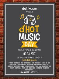 detik musik nantikan 23 musisi indonesia bersatu di d hot music day