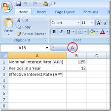 how to calculate monthly loan payments use excel to figure out an effective interest rate from a nominal