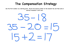the compensation strategy for subtraction youtube