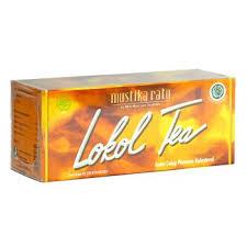 Lokol Tea ratu lokol tea 60gram jamu celup penurun kolestrol dye cholesterol