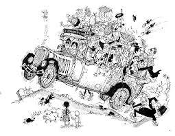 classic drawings mario miranda