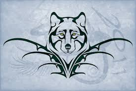 wolf tribal tattoo design by amoebafire on deviantart