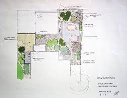backyard plan carol spitzer landscape design