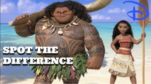 Spot The Different Color Can You Spot The Difference Disney Edition Moana Finding Dory