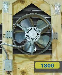 lomanco gable mounted attic fan
