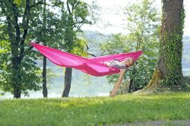 hammock set pink single hammock