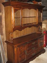 industrial china cabinet plus black hutch buffet or cabinets and