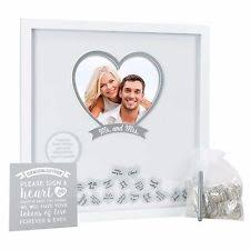 wedding wishes keepsake shadow box wedding shadow box ebay