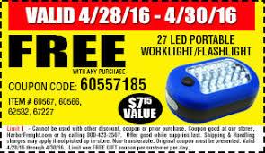 harbor freight light bar harbor freight coupon code free flashlight coupon rodizio grill denver