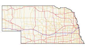 Nebraska State Map Nebraska State Highway System Wikipedia